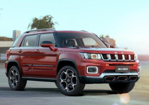 北京越野BJ30将于4月16日上市预售1060-1260万元