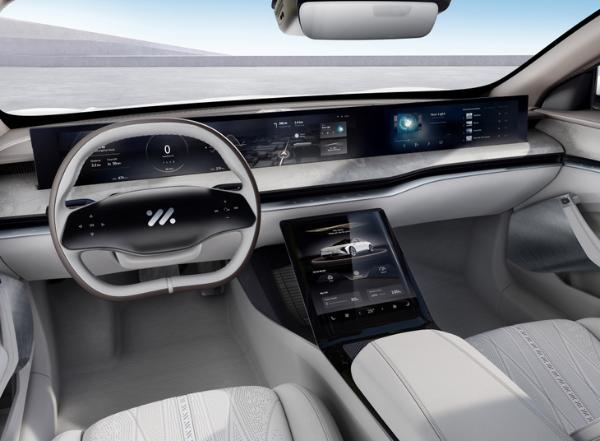 智己汽车首款车型上海车展接受预定 三种车身颜色供选择 最高续航接近1000km