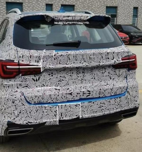 新款荣威RX5 PLUS实车谍照曝光 将于上海车展亮相