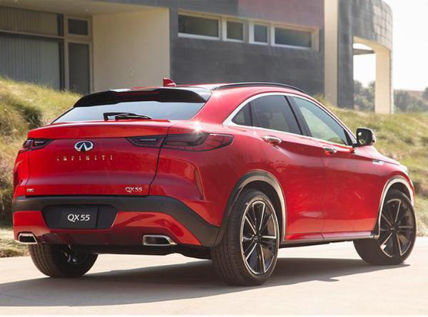英菲尼迪QX55将亮相上海车展 定位中型轿跑SUV