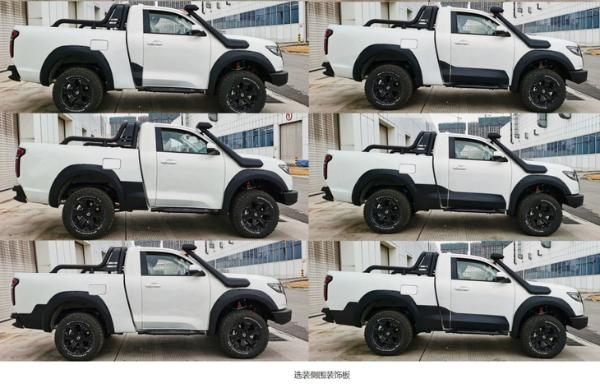 长城炮新推单排版车型 或上海车展首发亮相 搭2.0T发动机