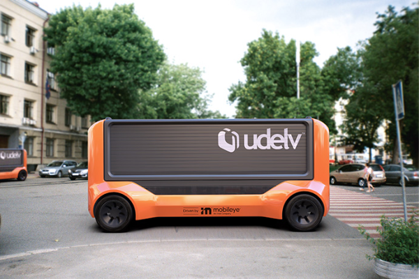 Mobileye与Udelv达成自动驾驶配送合作