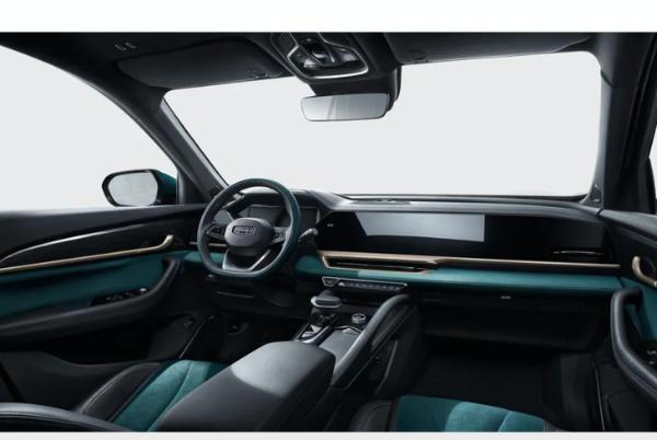 上海车展首发 吉利星越L特别版官图发布 采用专属翠羽蓝车漆