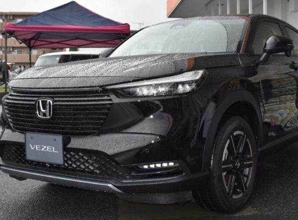 全新本田HR-V实拍图曝光 国产版车型有望明年换代