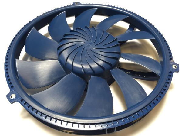 博格华纳 48V 电子风扇——大功率、高效率的气路系统解决方案