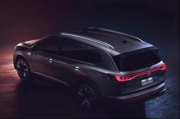 旗下首款中大型SUV 尺寸胜途昂 一汽-大众B-SUV上海车展首秀