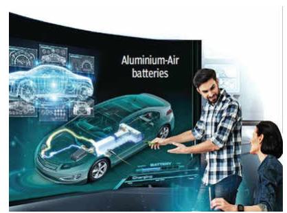 以色列Phinergy公司开发铝空气电池 不需要充电且续航为锂电池四倍