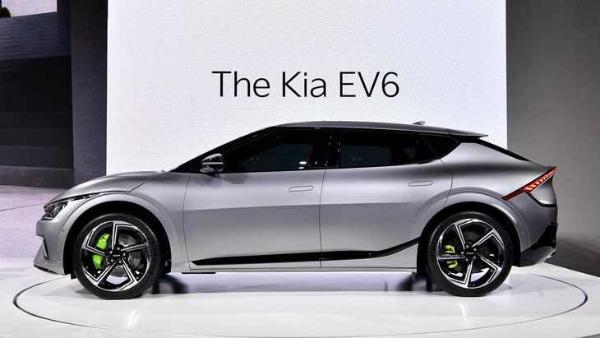 全新起亚EV6 GT概念车亮相 百公里加速仅3.5s
