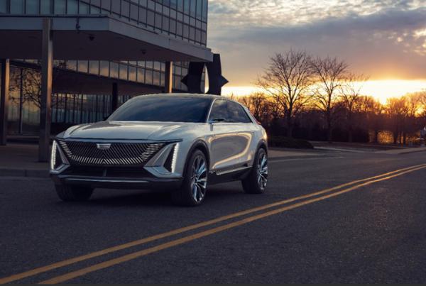 凯迪拉克LYRIQ概念车曝光2022年上海车展亮相量产