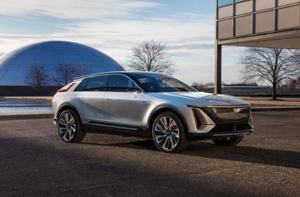 凯迪拉克LYRIQ概念车曝光 上海车展首秀 2022年量产上市