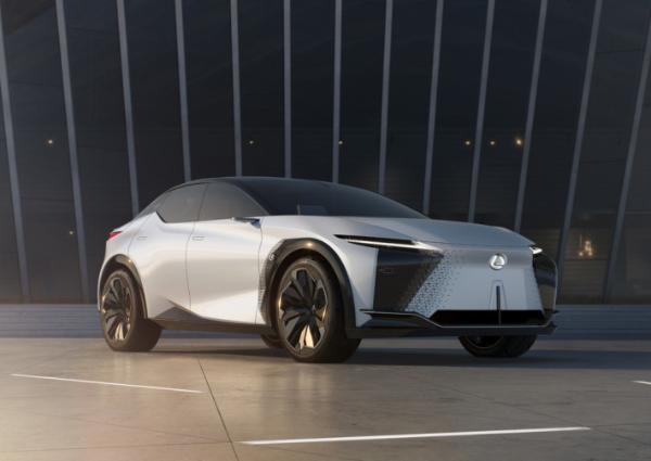 雷克萨斯发布全新电动概念车