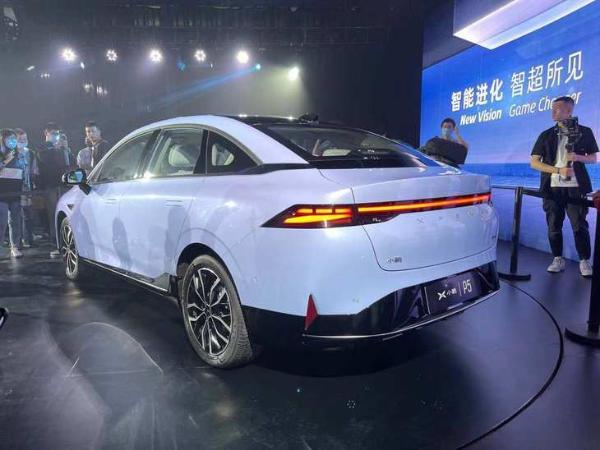 搭载激光雷达/续航里程600km 小鹏全新轿车P5正式发布