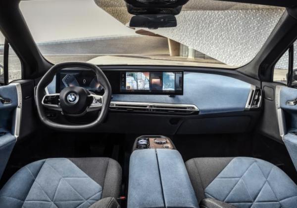 宝马iX上海车展发布 年底上市/续航达600km