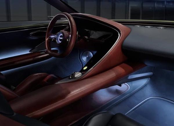 全新概念车捷尼赛思X于美国亮相 定位纯电动中大型轿跑车