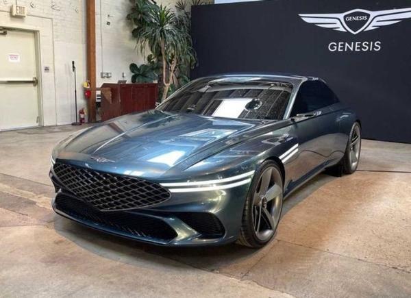 新概念汽车创世纪十在美国首次亮相 以定位一个纯电动中型和大型轿跑车