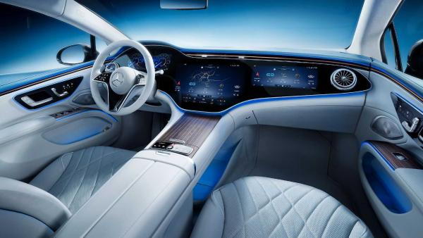 奔驰首款大型豪华纯电轿车EQS正式全球首发
