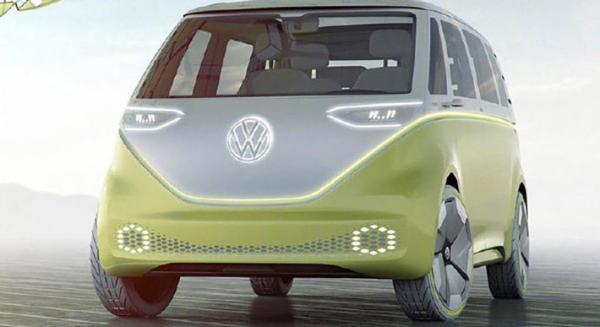 外形基于T1车型 大众ID BUZZ将于2023年量产