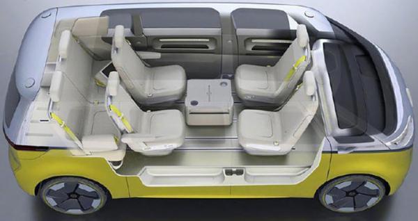 外形借鉴T1车型,相信你能猜到它是一辆纯电动车。科技感很强。                                                                         <bdo dropzone=