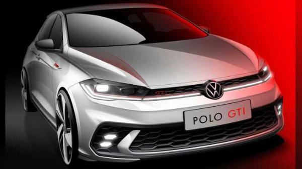 新款大众Polo GTI预告图