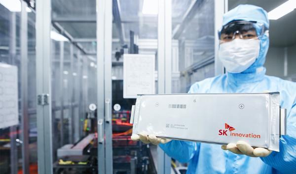 传福特、SK Innovation将推出电动汽车电池合资企业