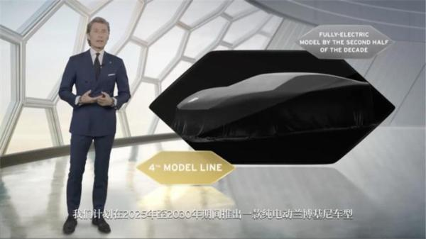 兰博基尼未来全系产品都将电动化,还有一款全新电动车推出