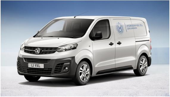 沃克斯豪尔推出Vivaro-e HYDROGEN氢燃料电动汽车 续航达249英里/三分钟加氢