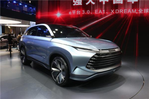 比亚迪全新纯电动SUV曝光,或为X DREAM概念车量产版