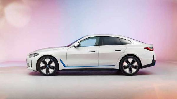 宝马i4 M50车型官图曝光 造型更运动 或6月1日发布