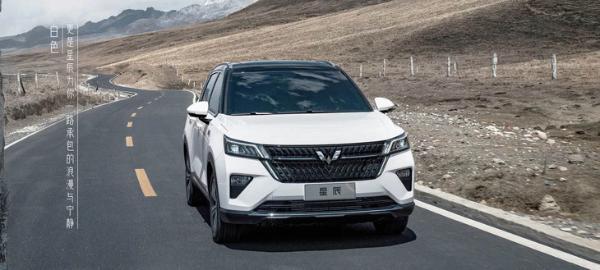 五菱星辰最新官图 预计三季度上市/品牌首款战略SUV