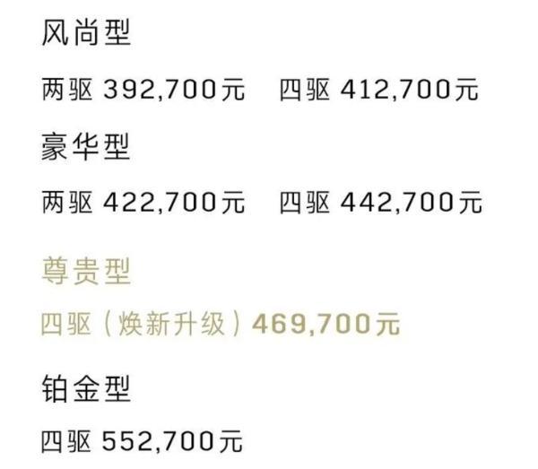 凯迪拉克XT6尊贵型焕新升级 配置升级 售价46.97万元