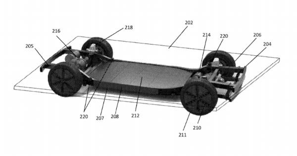 Canoo新专利申请曝光 其EV平台架构可与各种车身设计兼容