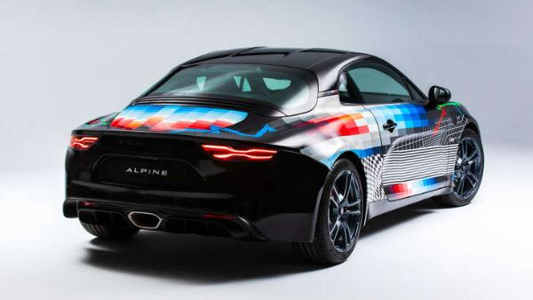 Alpine A110 S艺术车官图发布 限量打造4台 售价近百万