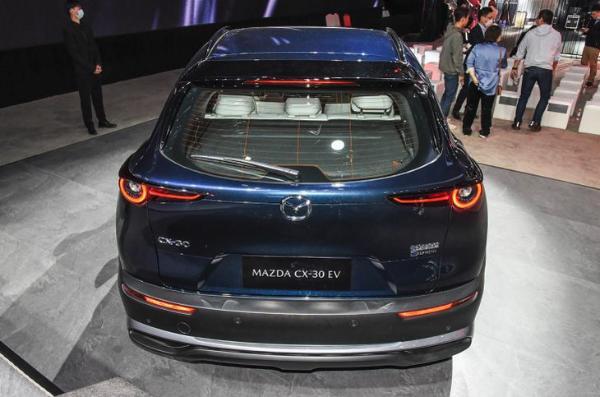 马自达在华首款新能源车 长安马自达CX-30 EV将于成都车展上市