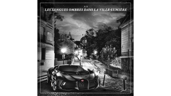 售价高达1100万欧元 布加迪La Voiture Noire预告图发布