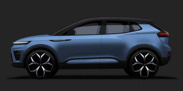 天际M5设计图曝光 定位紧凑型SUV 三季度上市
