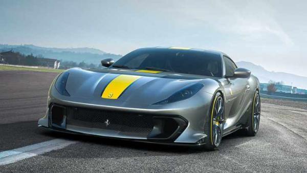 法拉利812 Competizione全球首发 零百加速2.85秒/V12成绝唱