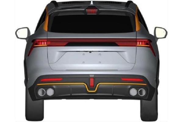 捷途全新SUV谍照曝光,采用溜背式设计,或为捷途X50