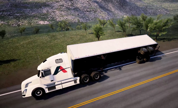 加州Axicle公司开发新型防侧翻系统 可在半挂式卡车翻车时保护驾驶舱