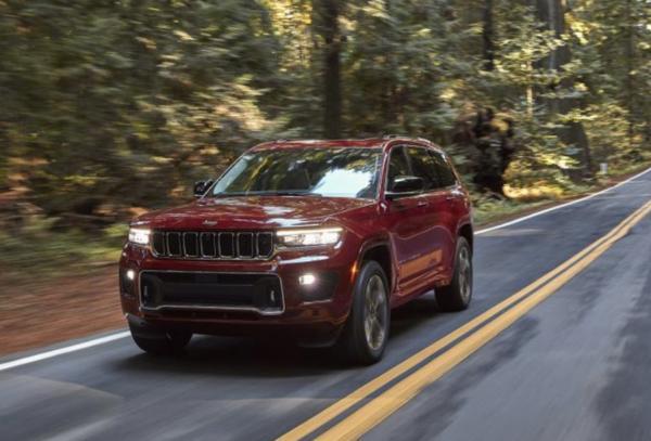 全新Jeep大切诺基L正式下线 采用最新设计语言