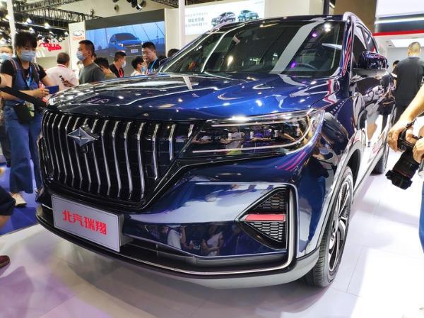 2021重庆车展:北汽瑞翔X5首发亮相