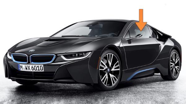 """宝马申请""""虚拟侧视镜""""专利 可将图像投射到汽车侧窗"""