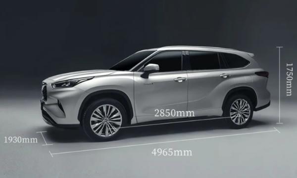 广汽丰田全新汉兰达正式上市 售价区间26.88万—34.88万