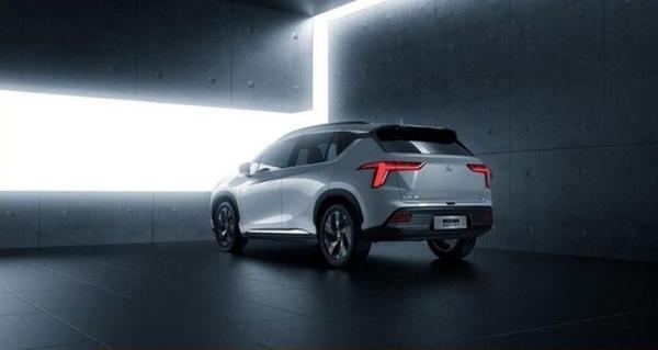 广汽三菱首款电动SUV阿图柯官图发布 最大续航600km