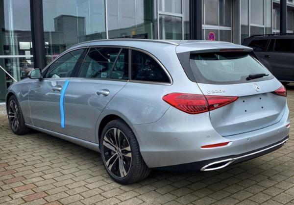 全新奔驰C级旅行版实拍图曝光 国产车型年内开售