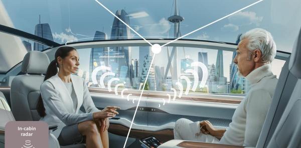 英飞凌发布新的雷达传感器 适用于座舱监控系统