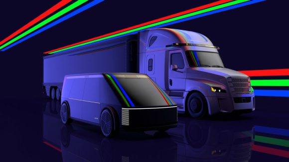 Luminar发布概念机器人出租车和概念卡车Blade