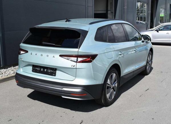 斯柯达ENYAQ iV实拍图曝光 定位紧凑级纯电SUV