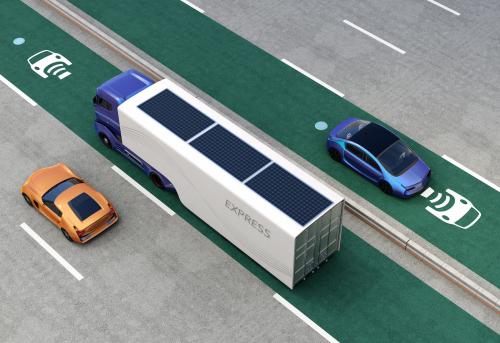 英国新研究探讨商业运输动态无线充电的可行性