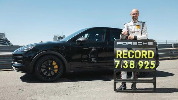 搭载4.0T动力 新款保时捷Cayenne高性能车型破纽北记录
