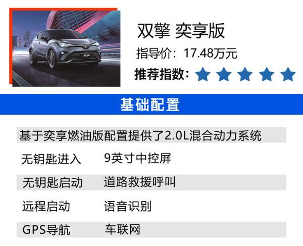 2021款奕泽IZOA购车手册 双擎2.0L奕享版最值得推荐